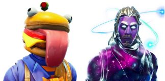 Burger Boss and Galaxy Leaked Fortnite Skins
