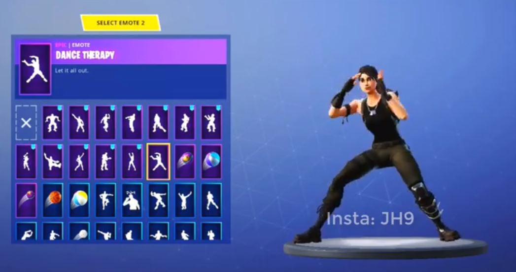 Dance Therapy Leaked Emote v5.3