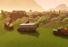 Dusty Divot Trucks in Fortnite