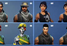 Editable Skins Concept in Fortnite