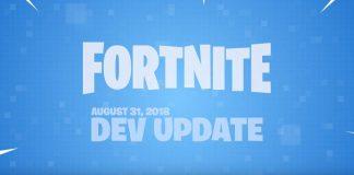 Fortnite Battle Royale Dev Update August 31st