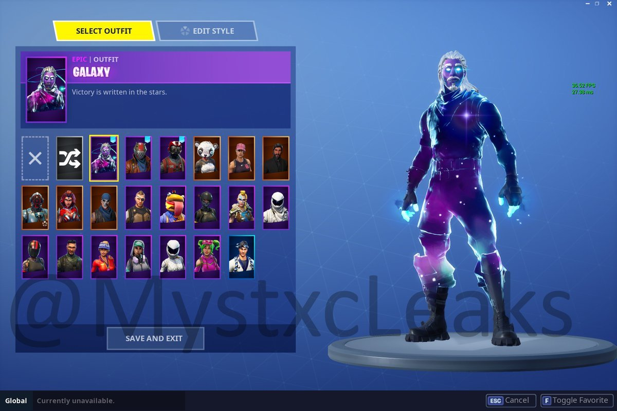 to galaxy fotnite download how skin