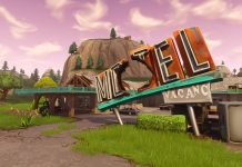 Fortnite Motel Sign