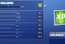 Fortnite Season 5, Week 6 Challenges