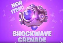 Fortnite Shockwave grenade v5.30 content update