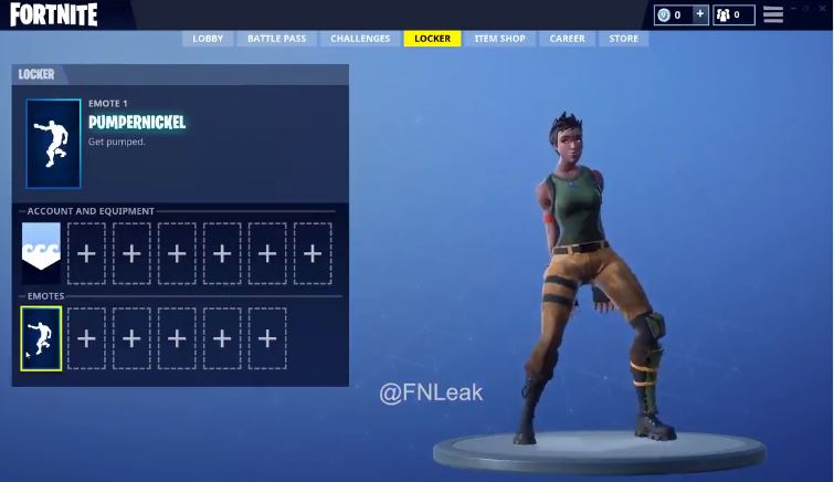 Fortnite V5.2 Leaked Emotes