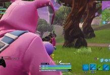Glitch when aiming down sight in Fortnite