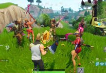 Search where the Stone Heads are Looking Fortnite Challenge