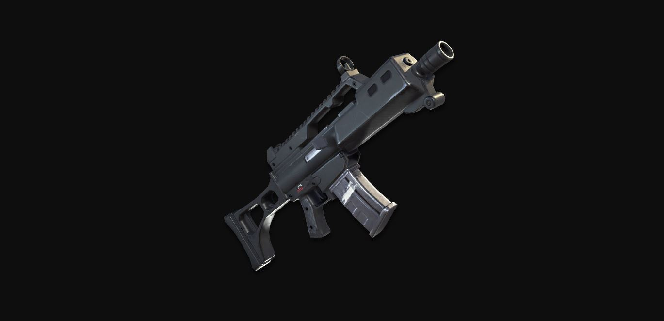 Supressed Assault Rifle Fortnite