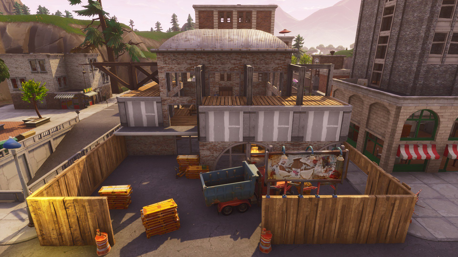 Tilted Towers Construction
