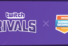 Twitch Rivals x Summer Skirmish event