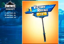 Victory Royale Pickaxe