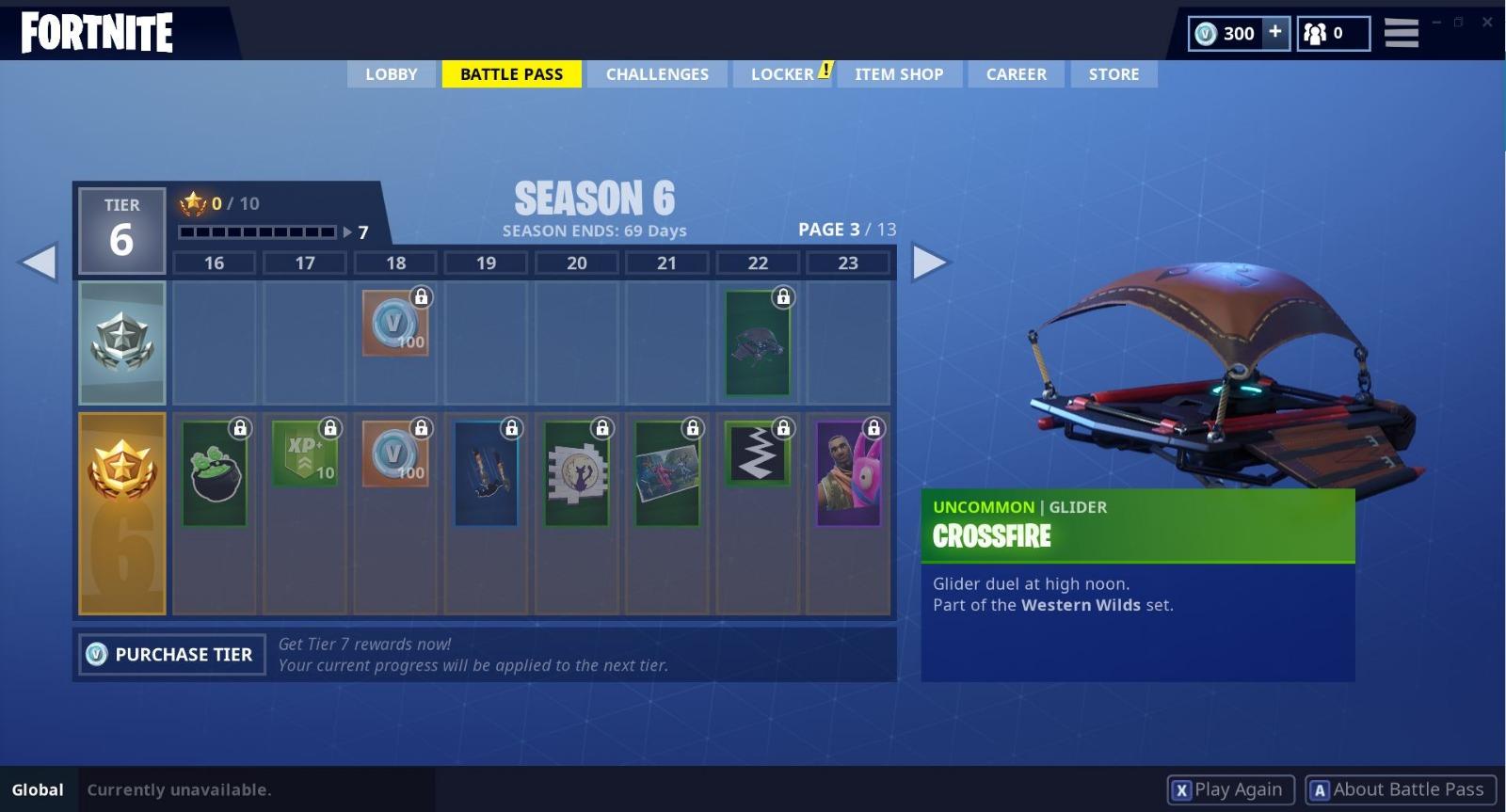 Season 6 Battle Pass 16-23