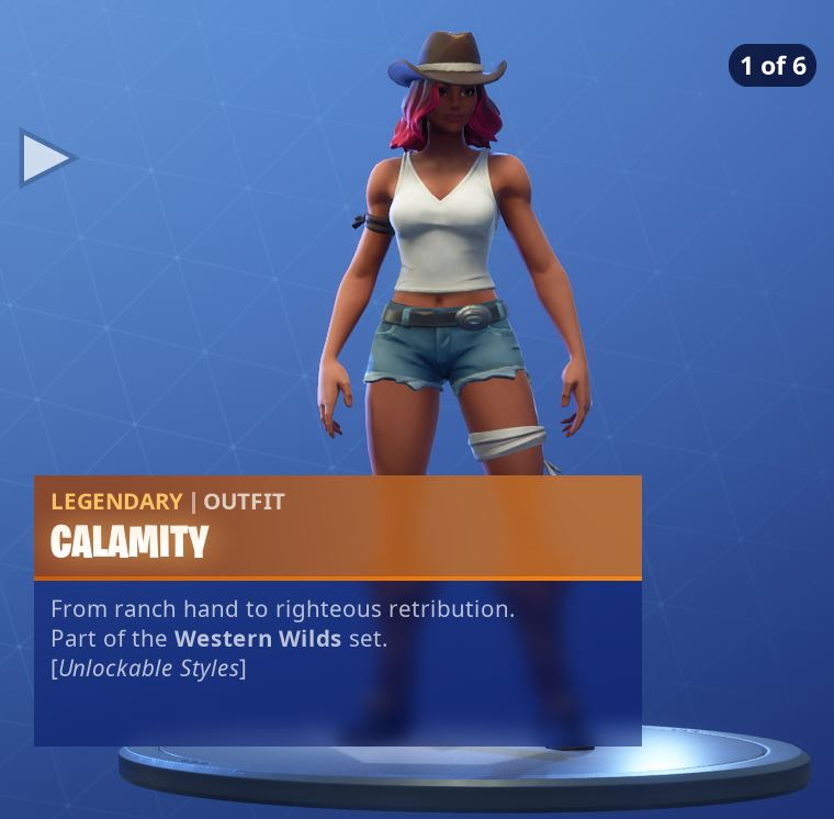 Calamity Unlockable Style 1