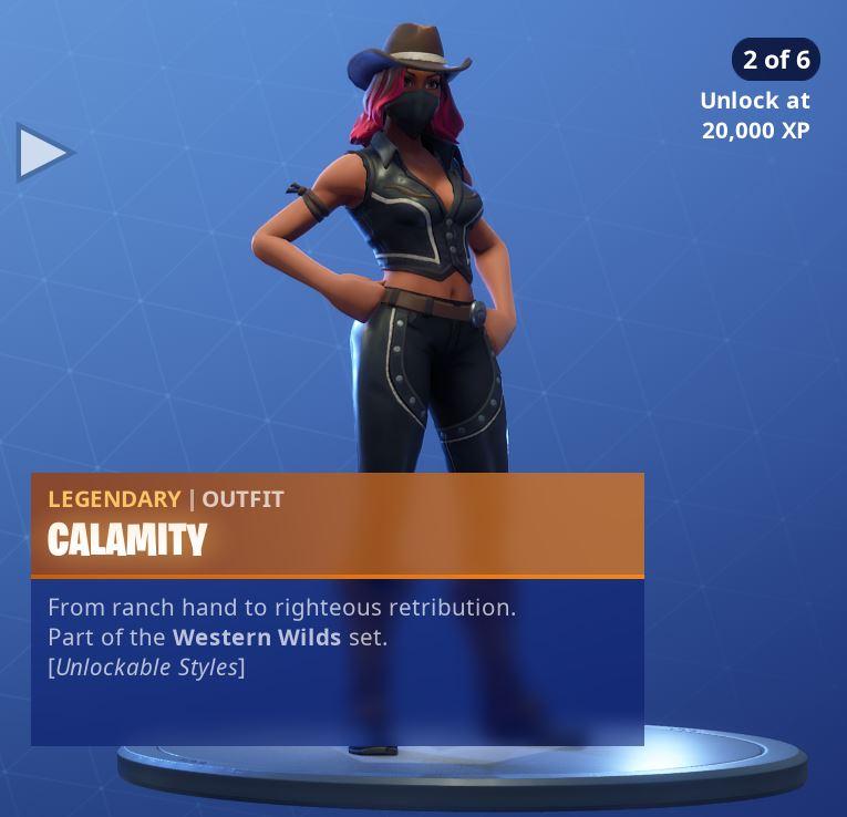 Calamity Unlockable Style 2