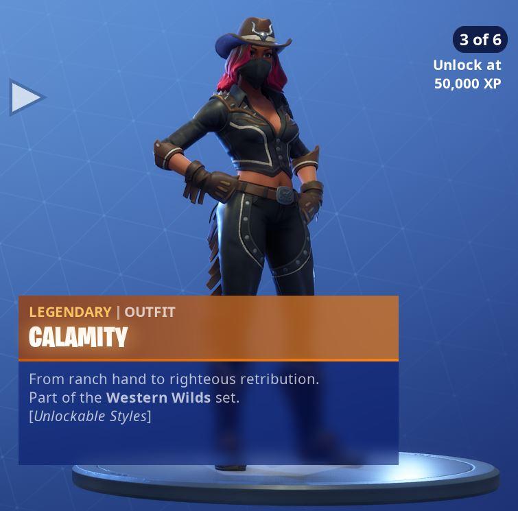 Calamity Unlockable Style 3