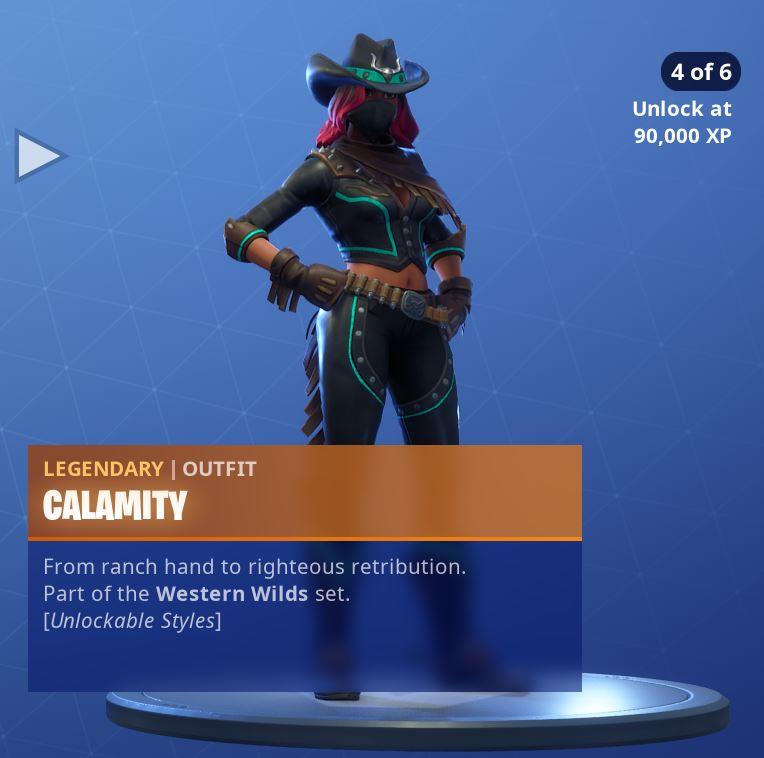 Calamity Unlockable Style 4
