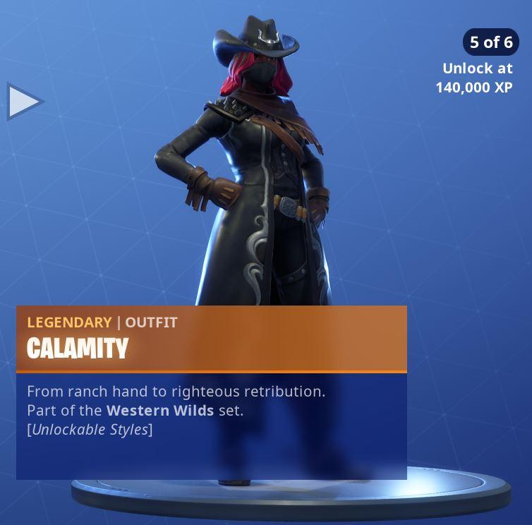 Calamity Unlockable Style 5