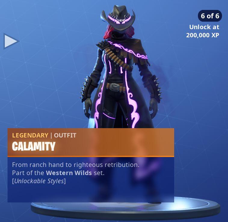 Calamity Unlockable Style 6