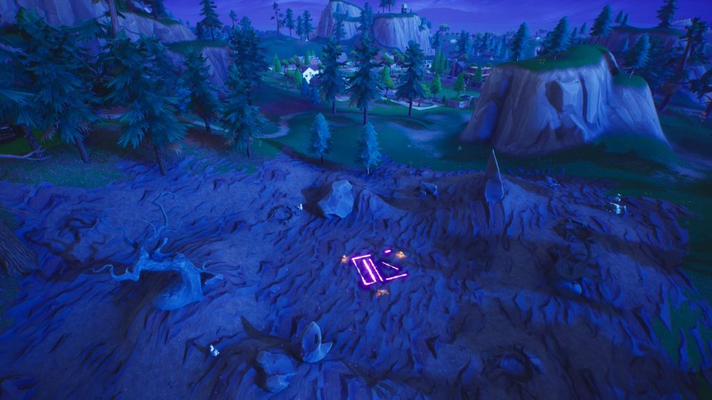 Corrupted Runes Locations Fortnite Map