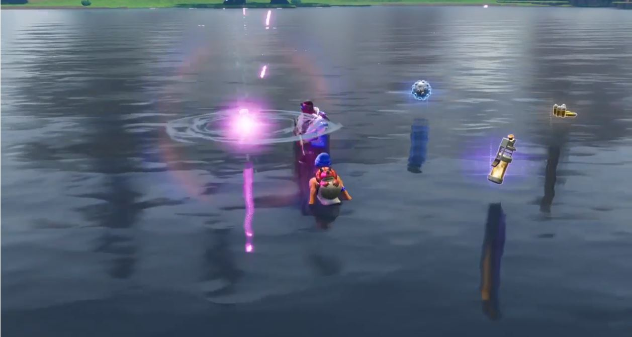 Cube Like Occurrence in Loot Lake