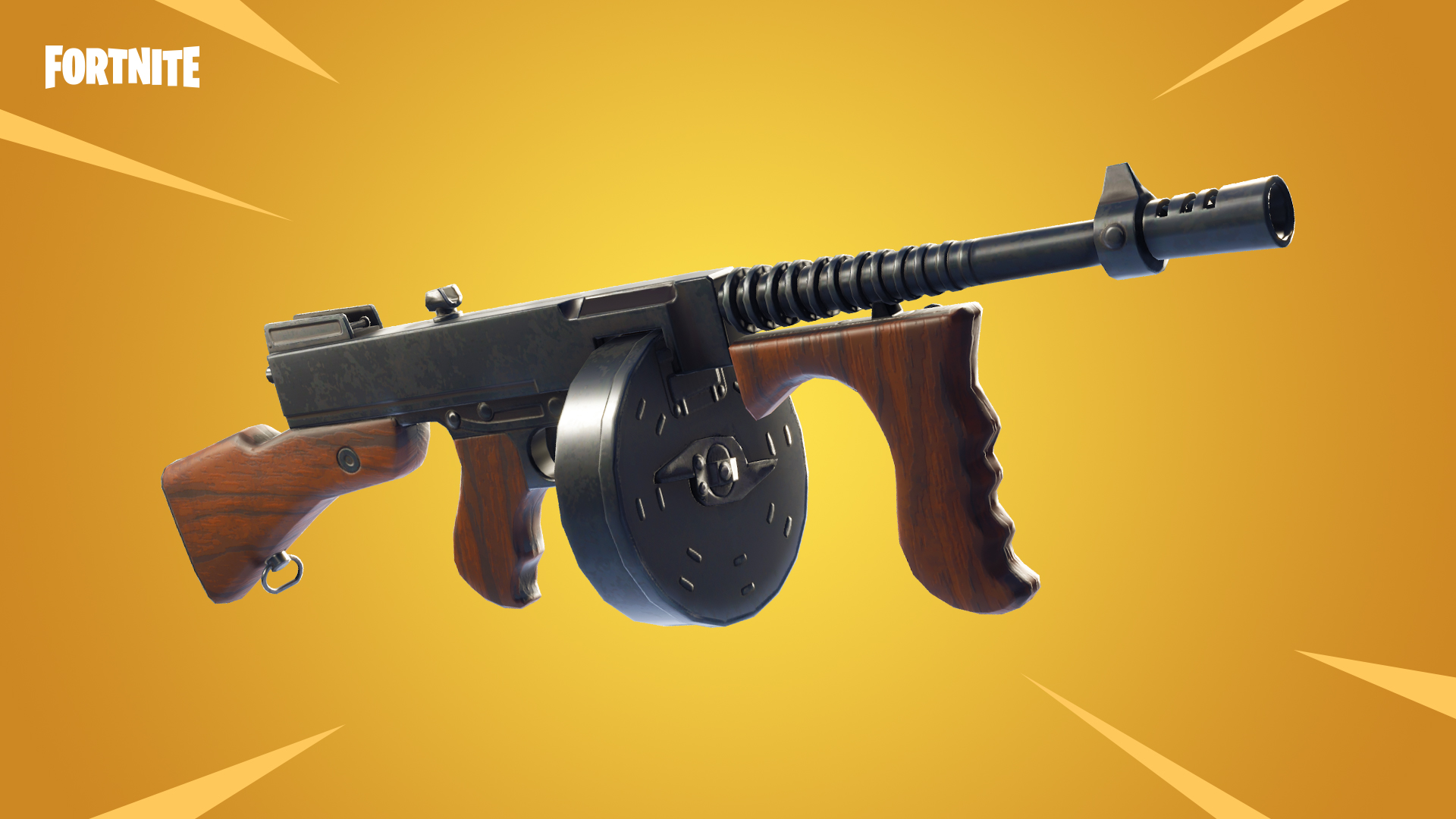 Drum Gun Vaulted in Fortnite