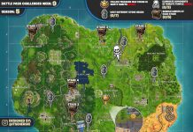 Fortnite Challenges season 5 week 9 cheat sheet