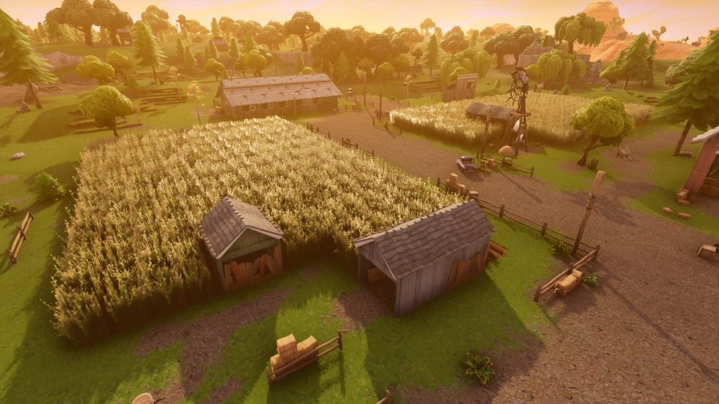 Fortnite Corn Fields Map