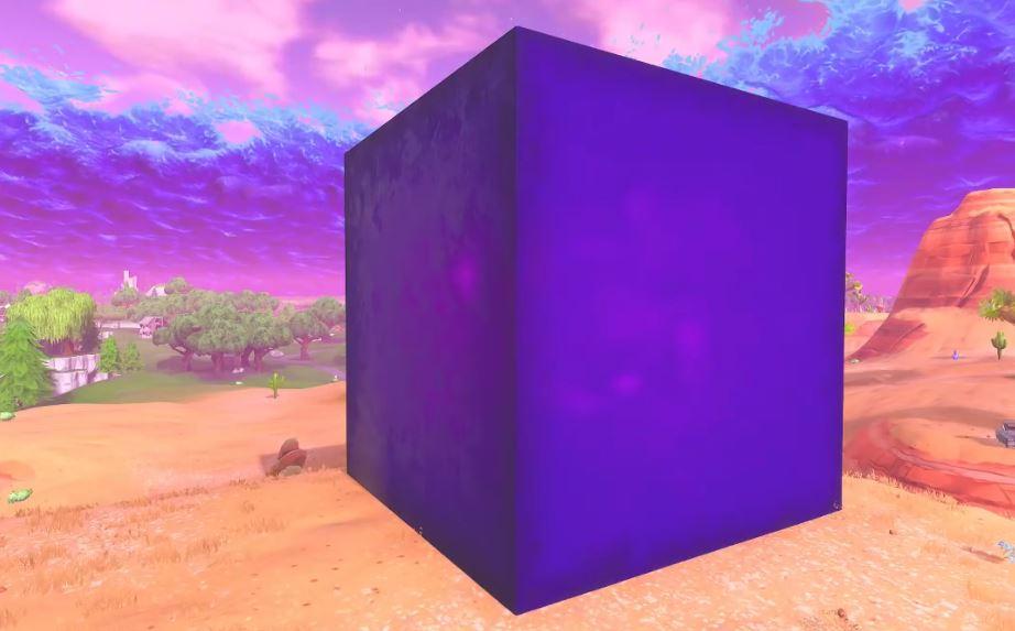 Billedresultat for fortnite cube