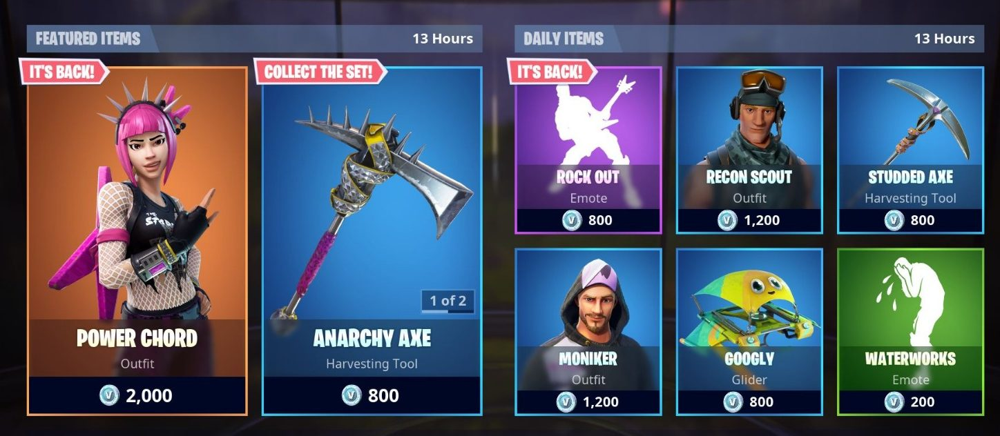 Fortnite Item Shop 9th September - 10th September
