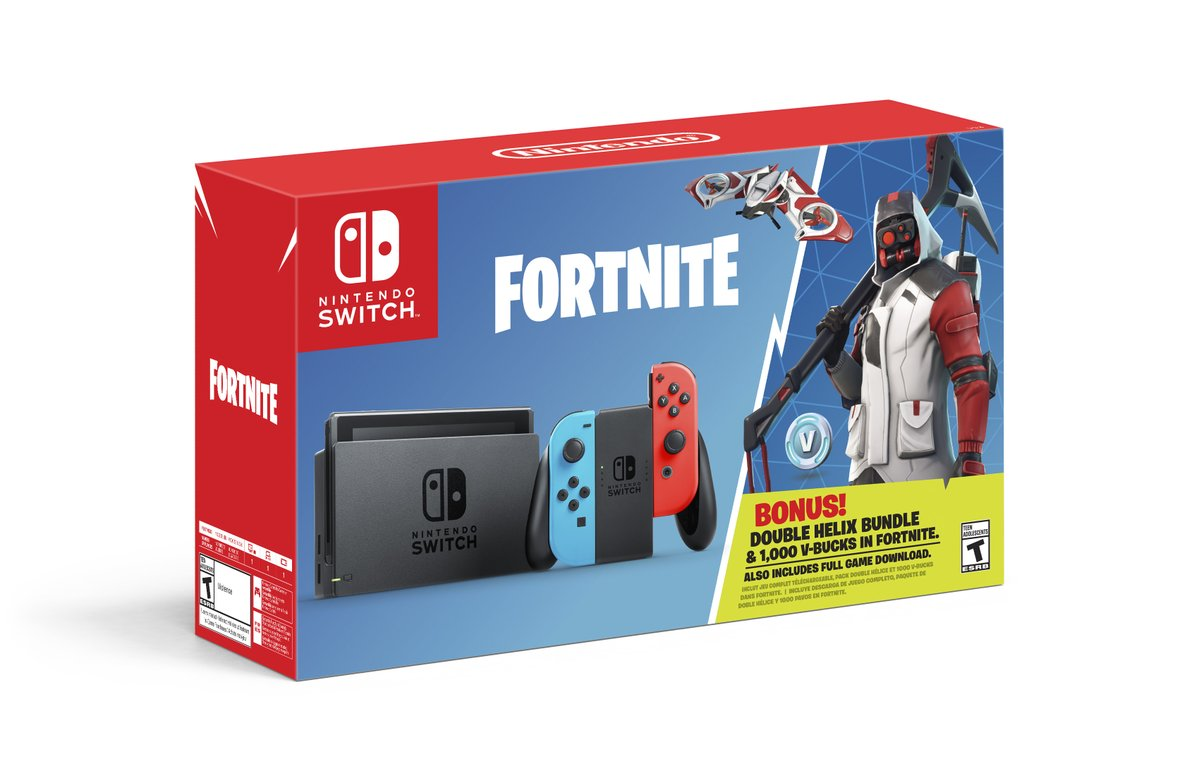 Fortnite Nintendo Switch Exclusive Bundle