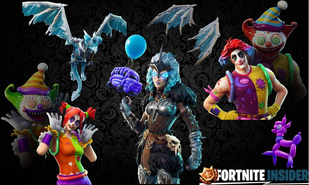 Names Rarities Of Fortnite Leaked Skins Cosmetics Found In The