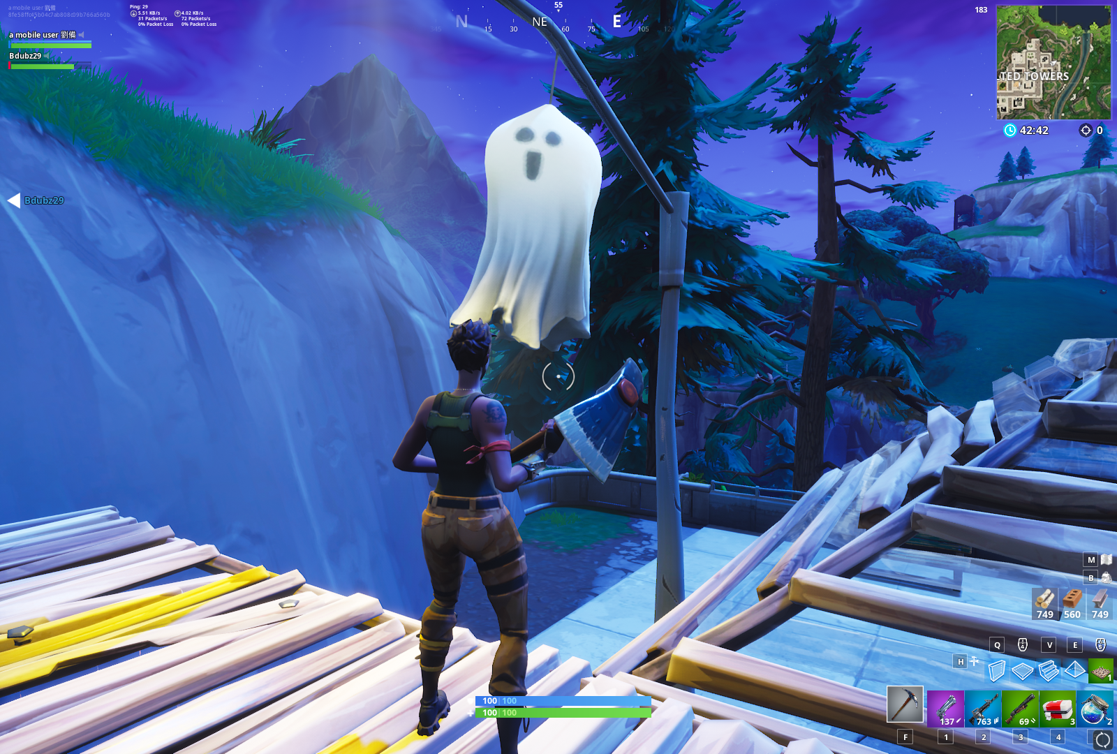 Ghosts in Fortnite