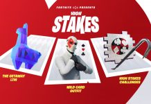 High Stakes event crowbar pickaxe fortnite