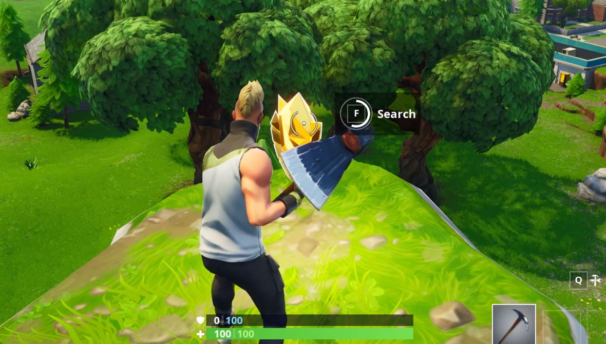 How to Complete the 'Follow the treasure map found in Shifty Shafts' Challenge