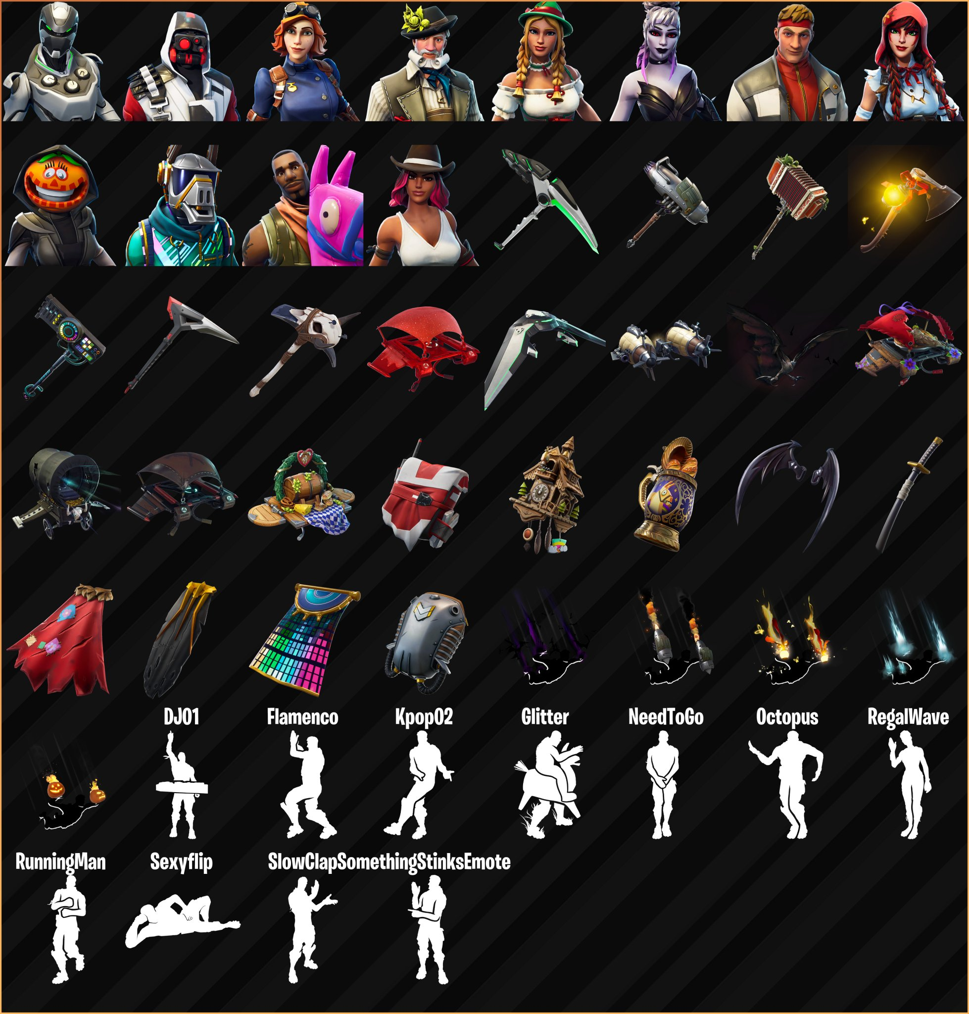 Fortnite Season 6 Leaked Skins Cosmetics Emotes Fortnite Insider