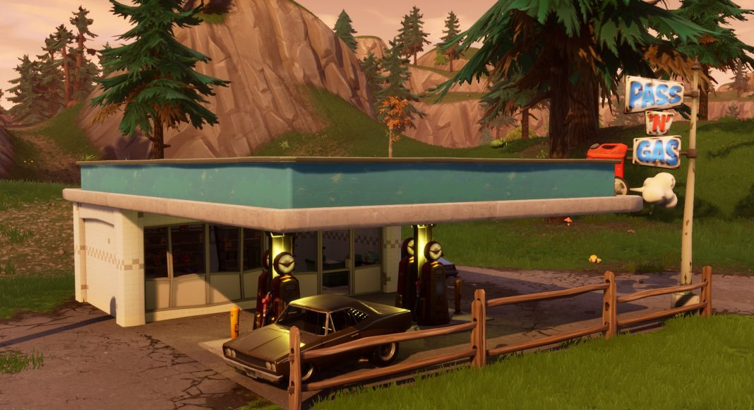 Pass_'N'_Gas station in fortnite