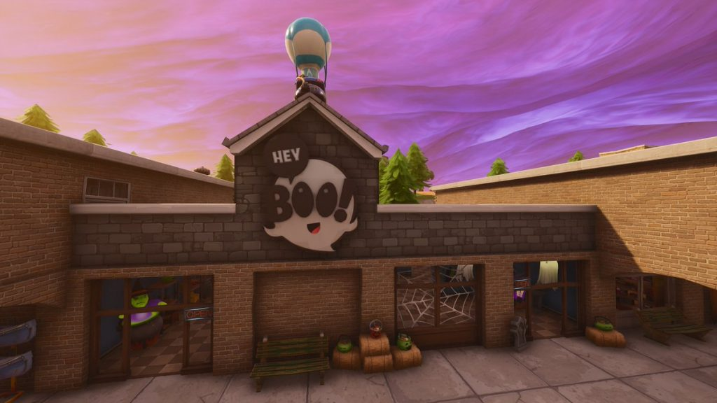 Retail Row Halloween Shop Fortnite