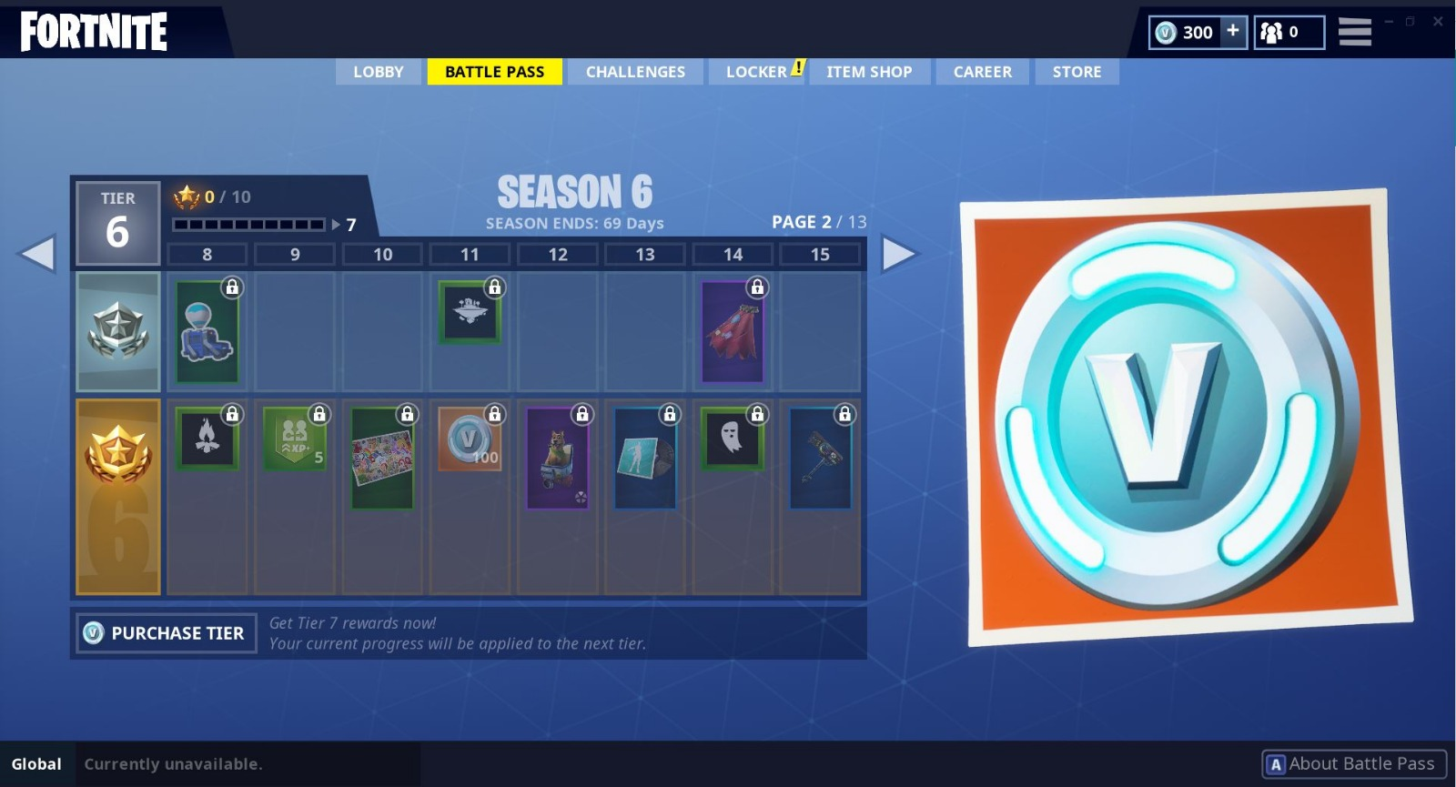 Fortnite Season 6 Battle Pass All Rewards Fortnite Insider
