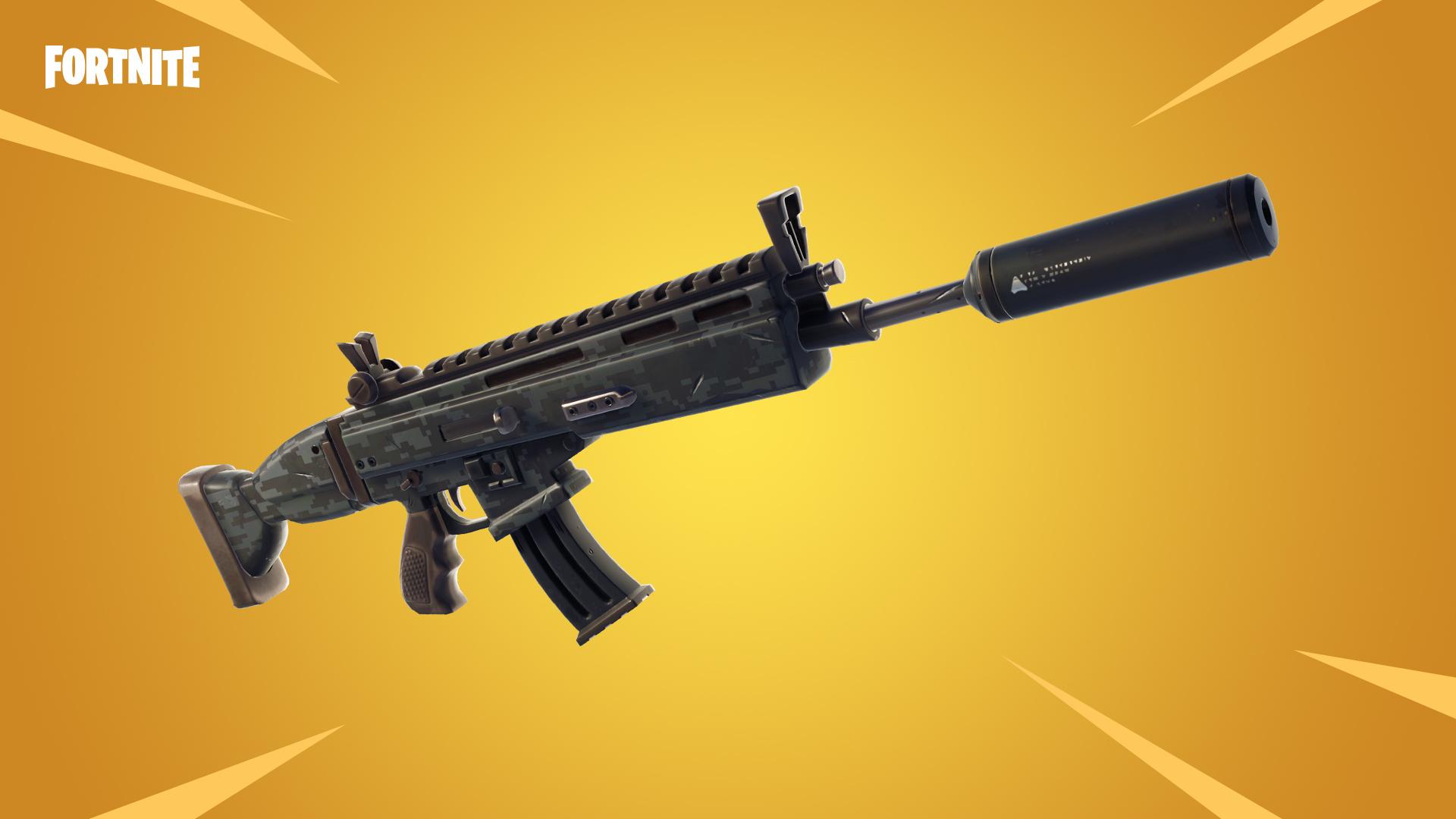 assualt rifle silenced v5.4 update content