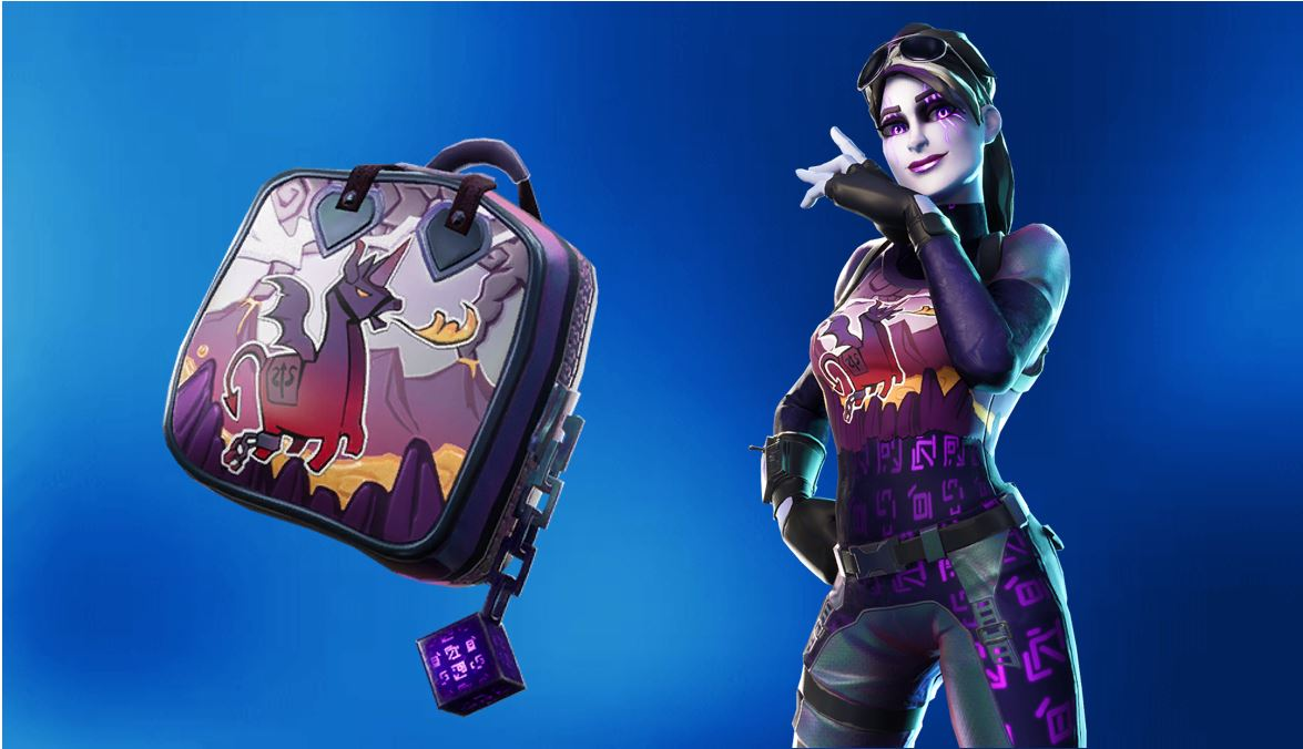 Dark Bomber Skin & Dark Bag Back Bling