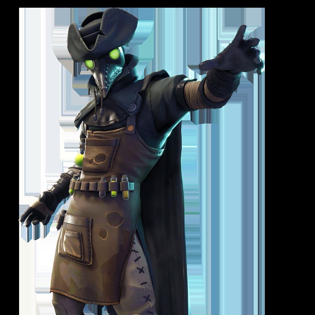 Plague Fortnite Leaked Skin v6.02