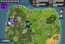 Fortnite cheat sheet season 6 week 5 challenges locations map