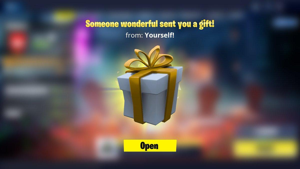 fortnite gift box style 2 - fortnite gift box png