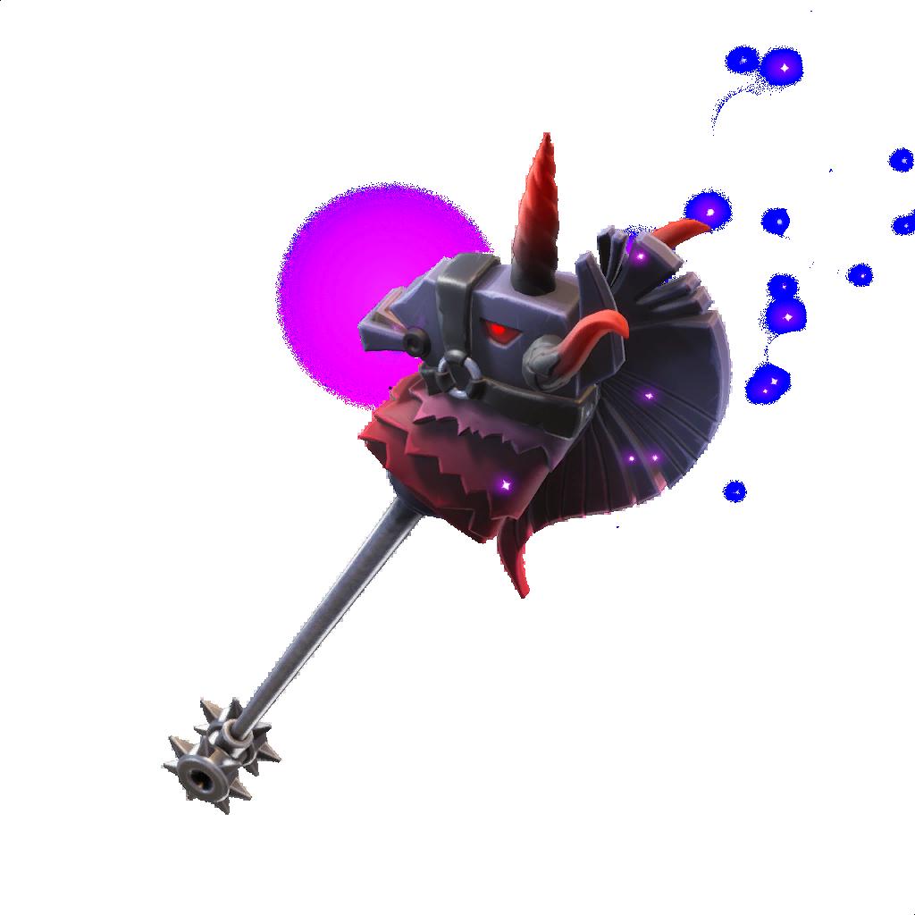 Thunder Crash Fortnite Leaked v6.01 Pickaxe cosmetic