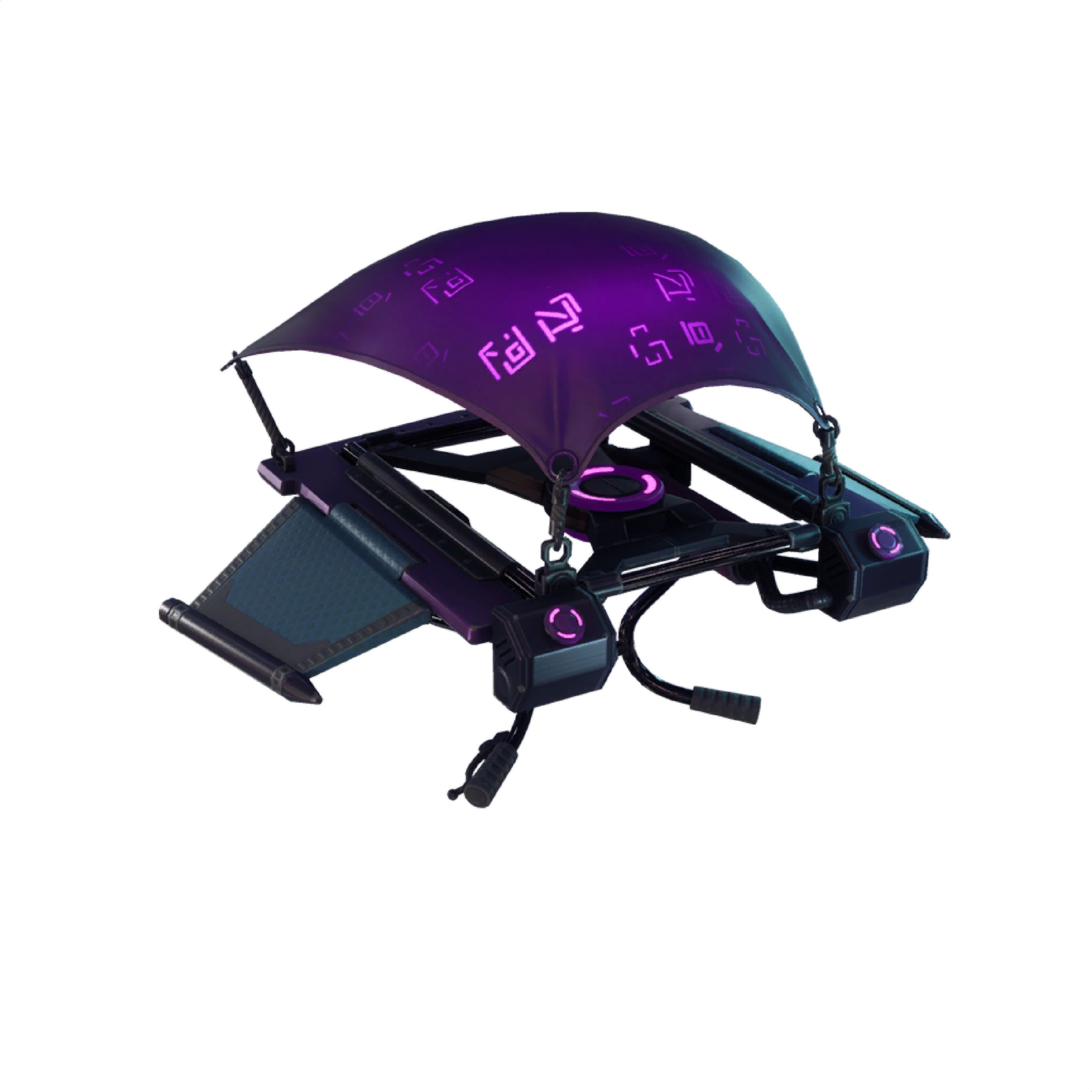 Dark Glyph Fortnite Leaked v6.01 glider cosmetic