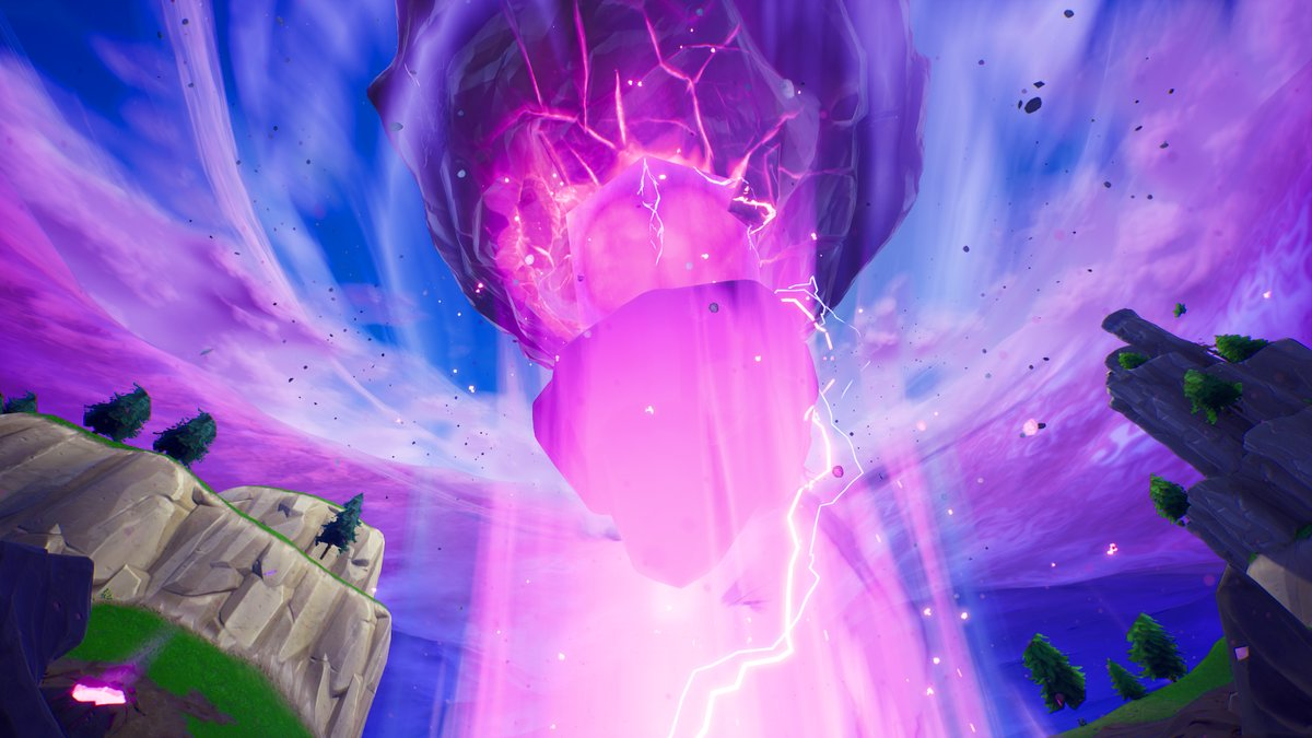 The Fortnite Cube Has Made Its Way To The Last Rune Fortnite Insider
