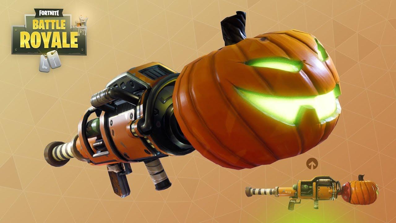 Pumpkin Rocket Launcher