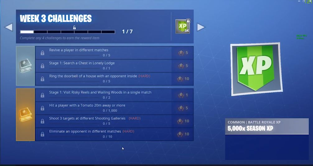 Season 6 Week 3 Fortnite Leaked Challenges