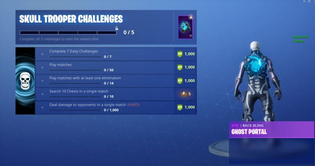 Skull Trooper Challenges